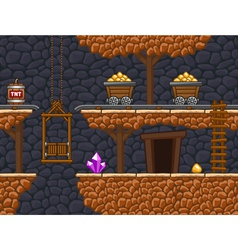 Gold mine 2 vector