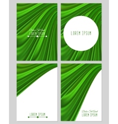 A set of four covers drapery vector