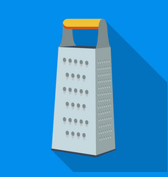 Grater icon in flate style isolated on white vector
