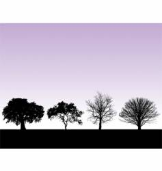 landscape graphic elements vector image vector image