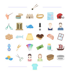 Clothing appearance atelier and other web icon vector