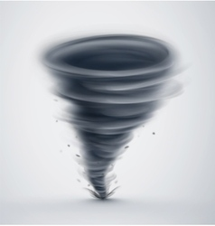 Isolated Tornado vector image
