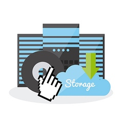 Data storage center vector