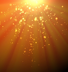Sunrays Background vector image