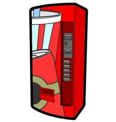 Beverage machine vector image vector image