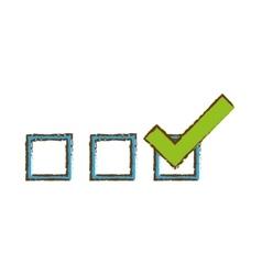 checklist icon image vector image