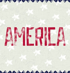 Patriotic background america vector
