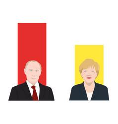 politicians vector image