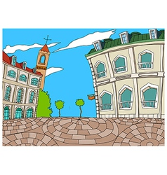 Townscape Sketch vector image