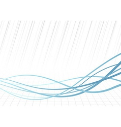 Technology rapid blue lines background vector