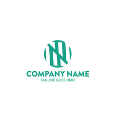 accounting and finance logo vector image vector image