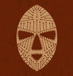 African maskvs vector