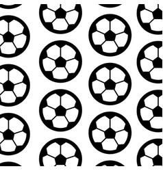 ball football soccer pattern image vector image vector image
