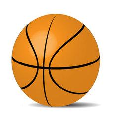 Basketball ball sport vector image vector image