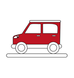 Car flat vector