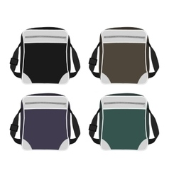 Shoulder bags set vector