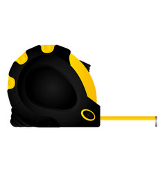 tool measuring tape icon image vector image vector image
