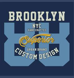 Brooklyn nyc superior vector
