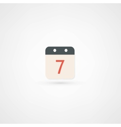 Date icon vector