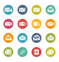 Email icons vector