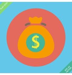 Money bag sign icon dollar usd symbol vector