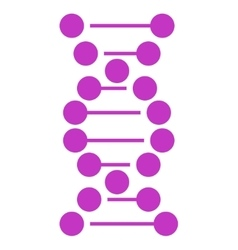 Dna spiral icon vector