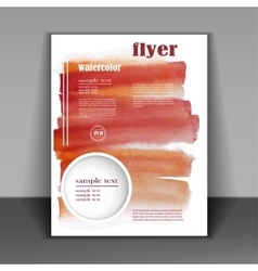 abstract design flyer vector image