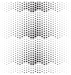 Dotted abstract halftone background vector