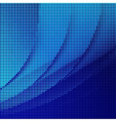 Abstract halftone lighting effects background vector