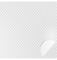 abstract lines template Object design vector image