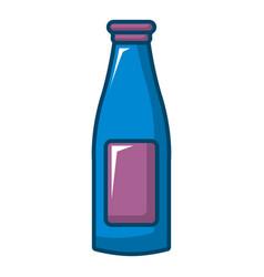 Bottle cream icon cartoon style vector