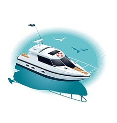 Marine recreation vector image vector image