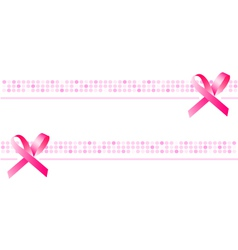 Ribbon background wallpaper pink banner vector