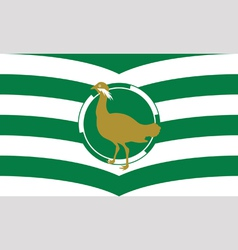 Flag of Wiltshire vector image