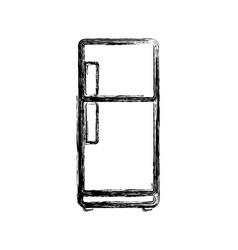 fridge household appliances vector image