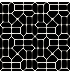 Seamless black and white pavement pattern vector