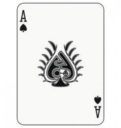 Ace of spades vector