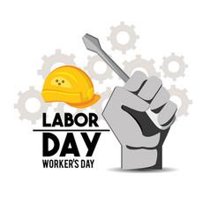 American labor day tradition celebration vector