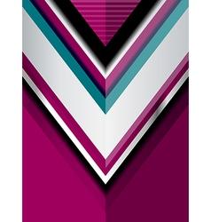 Geometric violet modern background vector