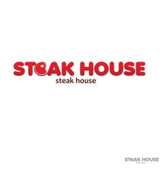 Steak house vector