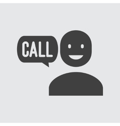 Call icon vector image vector image