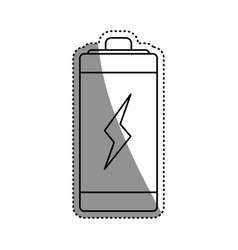 Eletric battery rechargeable vector