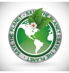 Planet design vector image vector image
