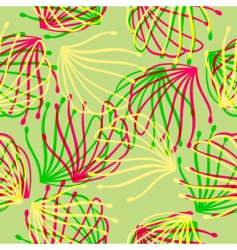 Spring almost here pattern vector