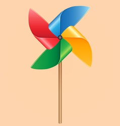 Propeller Pinwheel vector image
