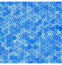 Abstract background with colorful hex polygons vector