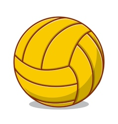 Volleyball ball isolated on white vector