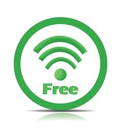 Free wifi vector image