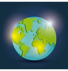 Global communication design vector