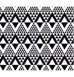 Black and white modern motif vector